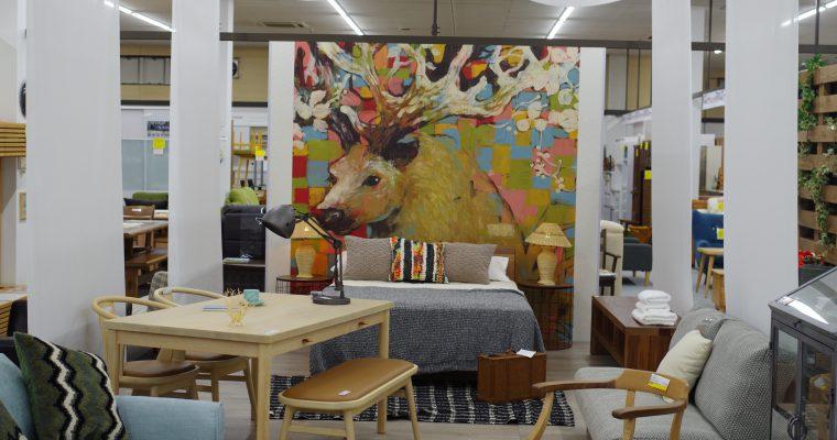 11月5日より店内リニューアル!家具木の國屋にて「カフェやホテルよりもおうちが好き。」の展示がスタート。