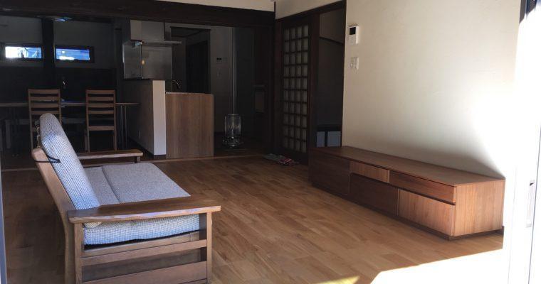 【納品事例6】下呂市の趣があるリフォーム物件に家具を納品させて頂きました。
