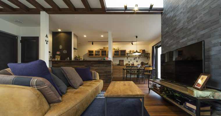 【納品事例⑪】NOZOMI GROUP様のブルックリンスタイルの家具を納品させて頂きました。
