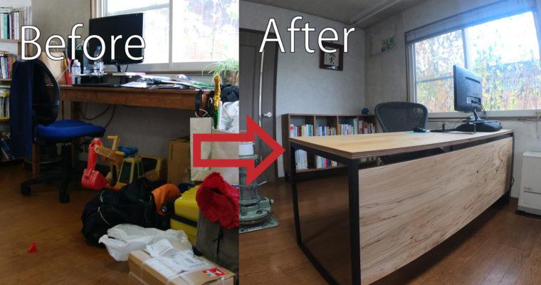 【納品事例16】無人島経営などで話題の森瓦店の事務所に家具を納品しました♪