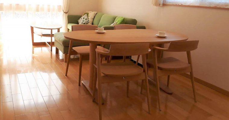 【納品事例】飛騨の家具・飛騨産業の家具の納品事例③④をアップしました!
