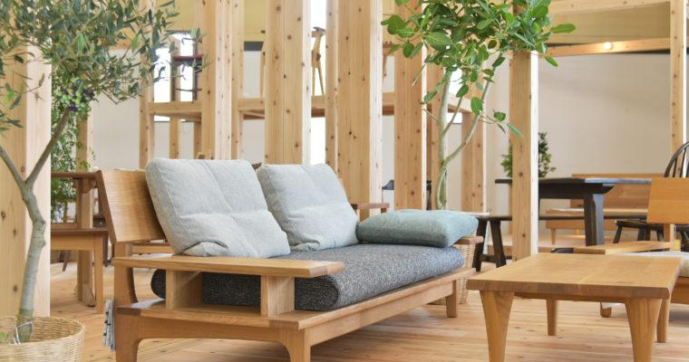 飛騨・高山市でソファを買うなら常時100台展示の家具木の國屋!おすすめの6つのポイントと取扱商品について